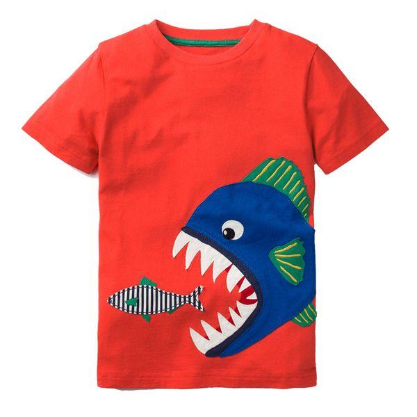 Boys T shirt Baby Summer Clothes 2019 Brand Unicorn Dinosaur Animal Kids T-shirts for Boys Clothing Children Short Sleeve Shirts