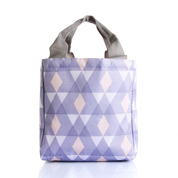 Unisex Portable Lunch Bag Thermal Insulated Box Oxford Cloth Cooler Bag Portable Tote Bento Pouch Picnic Lunch Container New