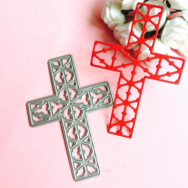 YLCD243 Cross Metal Cutting Dies For Scrapbooking Stencils DIY Album Cards Decoration Embossing Folder Die Cutter Template Mold