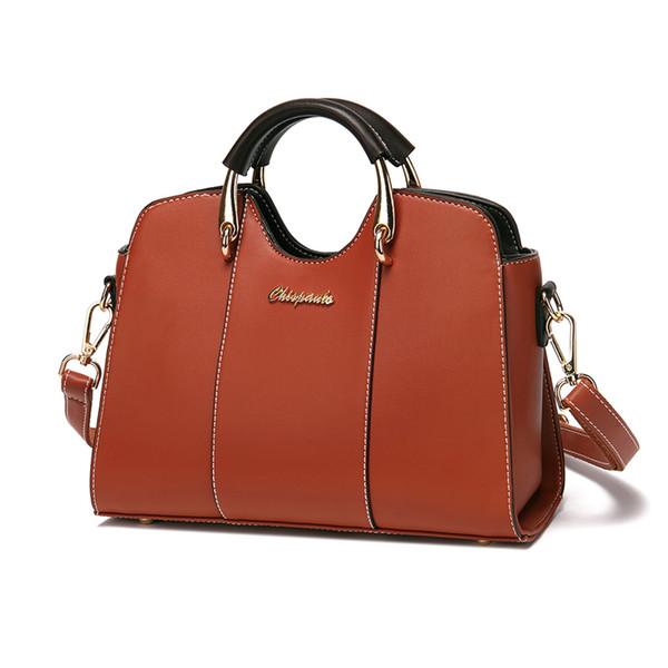 Women's Handbags Patent Genuine Leather Brand Counters fashion leather handbag Luxury Women Designer Top Handle Bags Sac T53