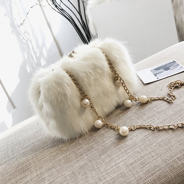 Free2019 Woman Bag Baby Winter Tide Chain Hand Take Small Square Package Joker Single Shoulder Satchel
