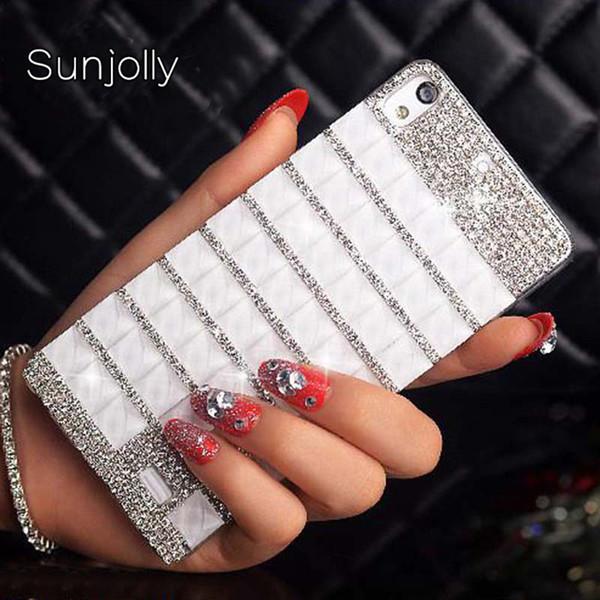 wholesale Rhinestone Cases Diamond Crystal Bling Phone Cover coque for Sony Xperia E5 M5 L36 M4 M2 X Compact Z5/ Z3/ Z1 mini capa