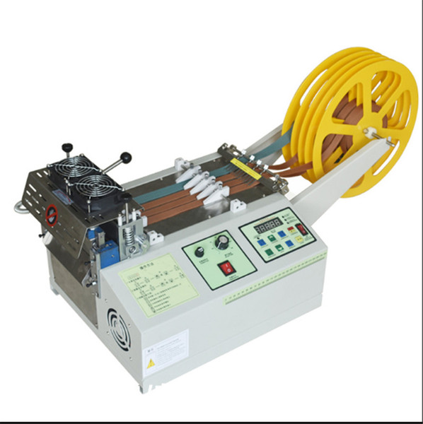best selling YFX-988T Automatic Microcomputer Belt Cutting Machine Cold And Hot Electric Ribbon Elastic Braid Cutter Zipper Cutting Machine