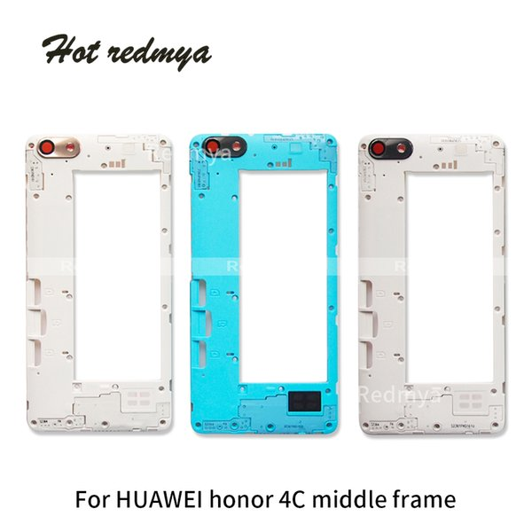 High Quality Middle Frame For Huawei Honor 4C Housing Middle Frame Bezel Middle Plate Cover Replacement Repair Spare
