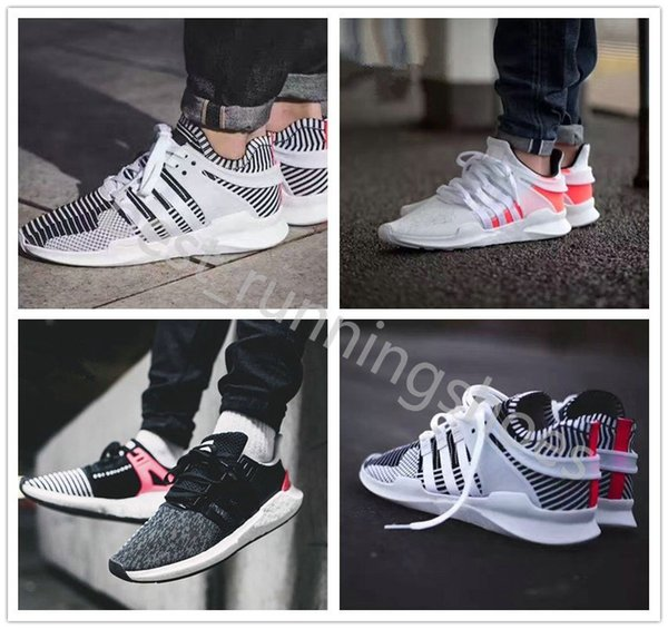 2019 EQT Support Future 93 17 Black White Stripe Zebra Women Mens Sports Running Shoes red pink Army green Navy grey Casual Sneakers 36-45