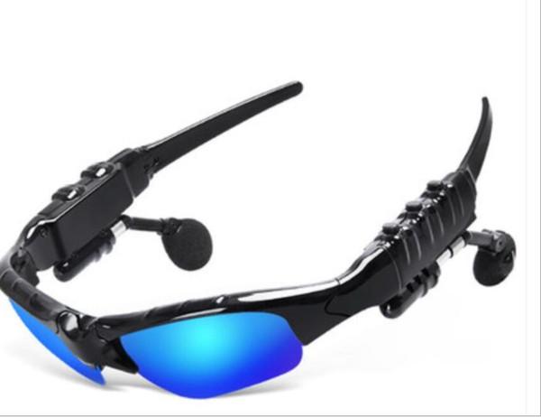 Neue sonnenbrille bluetooth headset outdoor-brille ohrhörer musik mit mikrofon stereo wireless kopfhörer für iphone samsung