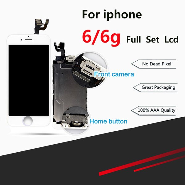 For iPhone 6 LCD Full Assembly Complete 100% With 3D Force Touch For iPhone 6 Screen Replacement Display