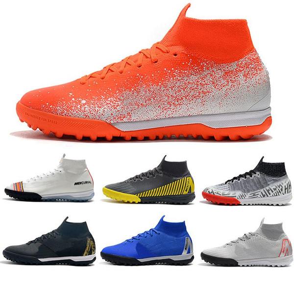 Sac Cadeau Chaussures De Football Euphoria Pack Superflyx 6 Élite Ic Tf Chaussures De Football Cr7 Mercurial Superfly Vi Neymar Chaussons De Football En Intérieur