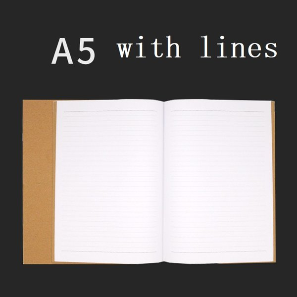 A5 with lines
