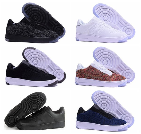NIK One 1 Dunk Men Women 2019 Flyline Running Shoes Sports Skateboarding Ones Shoes High Low Cut White Black Outdoor Trainers Sneakers