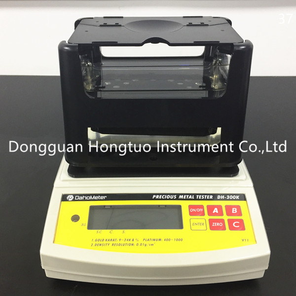 DH-300K Gold Reinheit Tester Professioneller Schmuck Edelmetall Gold-Prüfungs-Maschine mit guter Qualität durch freies Verschiffen