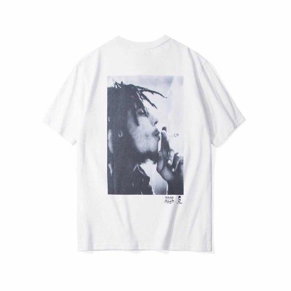 Stussy Fashion Herren Designer T Shirts Hip Hop Kurzarm Retro Frauen Männer Muster Print T Größe S-XL