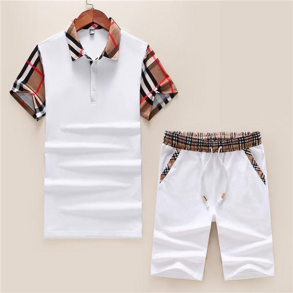 Camiseta letra grande de traje de los hombres de ropa deportiva de manga corta spor pantalones de chándal traje de sudor y camiseta de la ropa Camisa de campo de los hombres de ropa deportiva de los hombres