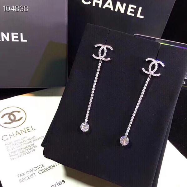 925 Sterling Silber Platz Große CZ Diamant Ohrring Fit Pandora Schmuck Gold Rose Gold Überzogene Bolzenohrrings Frauen Ohrringe