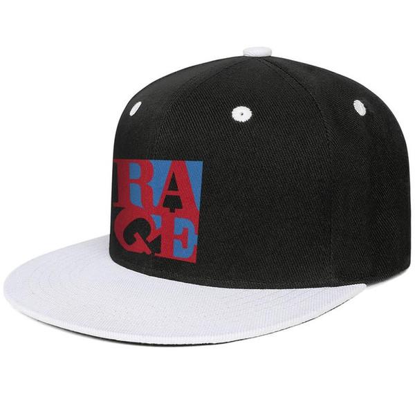 Rage Against The Machine Berretto da baseball Snapback da donna per uomo CoolCasualPrinted Caps 100% CottonRelaxedOne Size cap