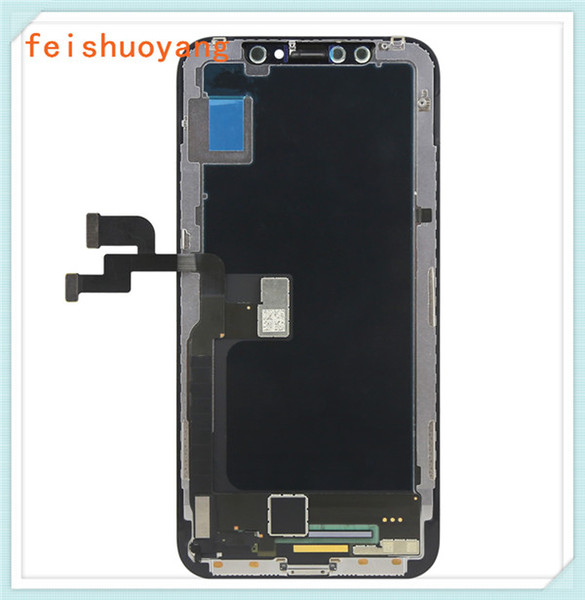 Hot Selling For iPhone X LCD Display Screen Panels Touch Screen Digitizer with Frame Full Assembly Replacement 5.8 Inch Original