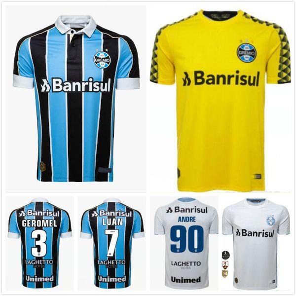 2019 2020 Trikots von Gremio spielen auswärts in der brasilianischen Liga. 19 20 Trikots von Gremio LUAN Maicon