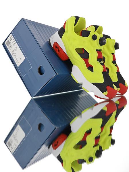 2019 recién llegado 25 aniversario de Instapump Fury prototipo Citron OG zapatillas de deporte para alta calidad para hombre atlético zapatillas deportivas baratas