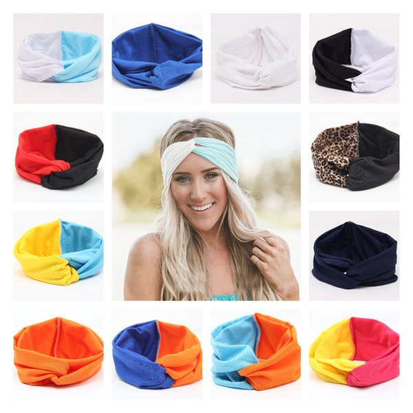 PRETTY FLORAL BLUE AND ORANGE HEADWRAP HAIR WRAP BANDANA LADIES GIRLS NEW