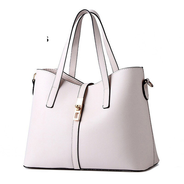 good quality Classic Casual Tote Ladies Handbag Sale With Free Shipping Women Fashion Bags 2019 Elegant Zipper Solid Carteras Mujer
