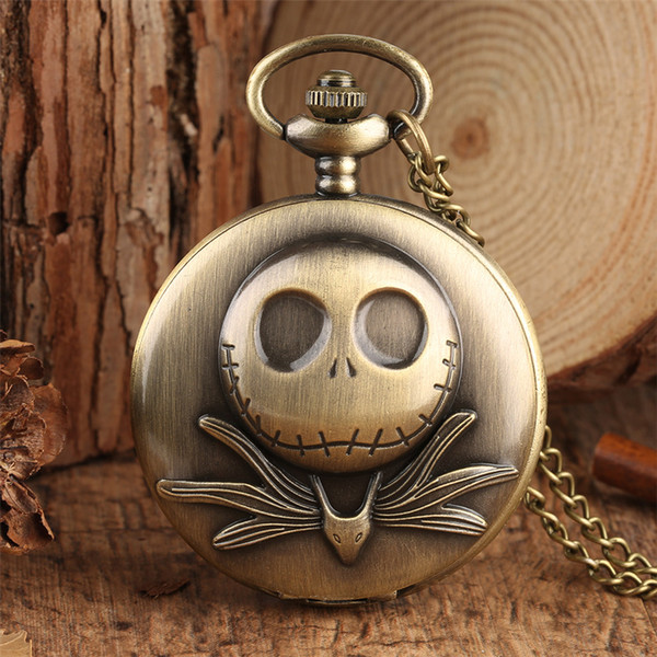 Bronze Cute Frog Pocket Watch for Kids Vintage Pendant Clock with 80cm Necklace Chain Exquisite Necklace Watch Gift Boys Girls
