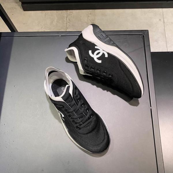 2019 neue Marke Luxuxdamen Freizeitschuh Mode wilde Sportschuhe im Freien bequem atmungsaktive Damen Schuhe original box Rechnung Verpackun