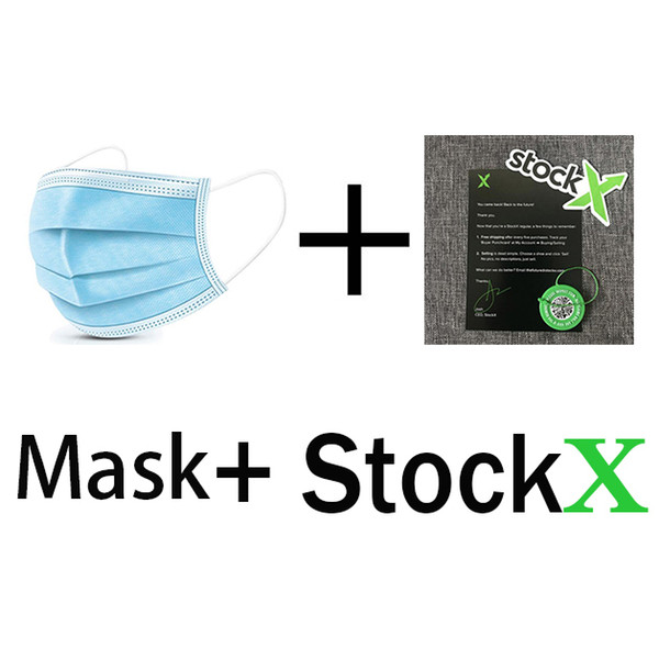 mit Stockx + Schlüsselanhänger + Maske
