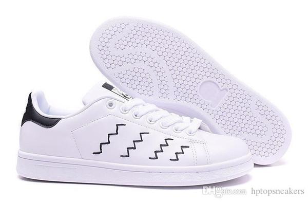 Nuove scarpe casual classiche Stan Smith Zapatos 2019 Scarpe da uomo Smith di alta qualità Scarpe da ginnastica sportive da donna in pelle casual