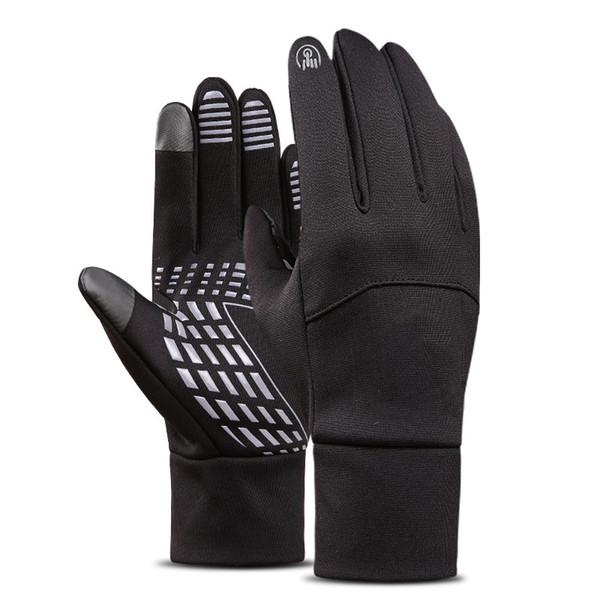 Winter Outdoor Sports Waterproof Men Women Full-finger Ski Gloves Wind-proof Thermal Touch Screen Cycling Snowboard Gloves