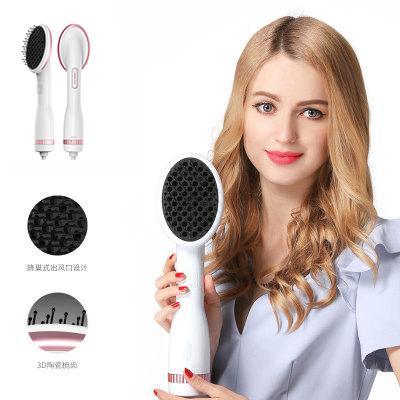 Peine de viento cálido Lescolton de calidad de salón Secador de cabello de iones negativos protección y peinado del cabello Peine eficiente UE enchufe de EE. UU.