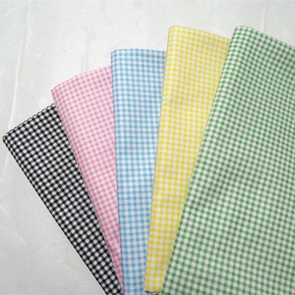 Grid print 100%cotton fabric for baby cloth 10yards/lot tomo1818