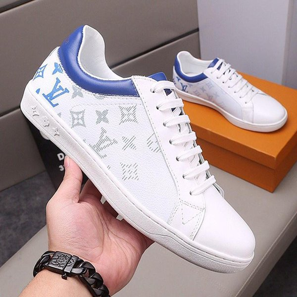 LuxuryDesignerLV Fashion Mens Shoes Breathable Outdoor Footwears with Box Athletic Walking Sports Trainers Chaussures Pour Hommes