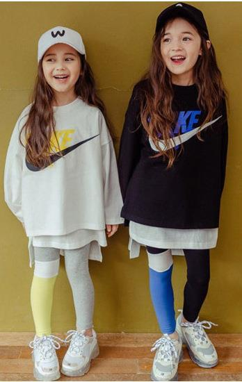 Ins hot primavera meninas camisola personalidade Hoodies versão coreana do decote em torno do pescoço de manga comprida solta impressão casual esportes camisola fã