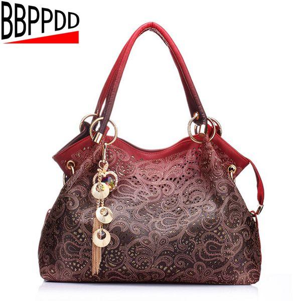 2019 Fashion BBPPDD Feminina Grande Handbag 2018 New Fashion Women Bag Brand Women Leather Handbags Woman Large Shoulder Bags Casual Tote Ba