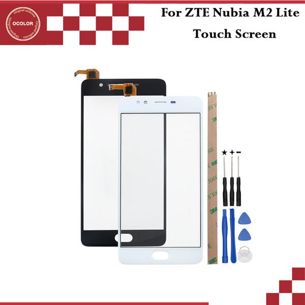 Ocolor Para ZTE Nubia M2 Lite NX573J Pantalla táctil Panel táctil Reemplazo del sensor del digitalizador para ZTE Nubia M2 Lite + Herramientas + Adhesivo