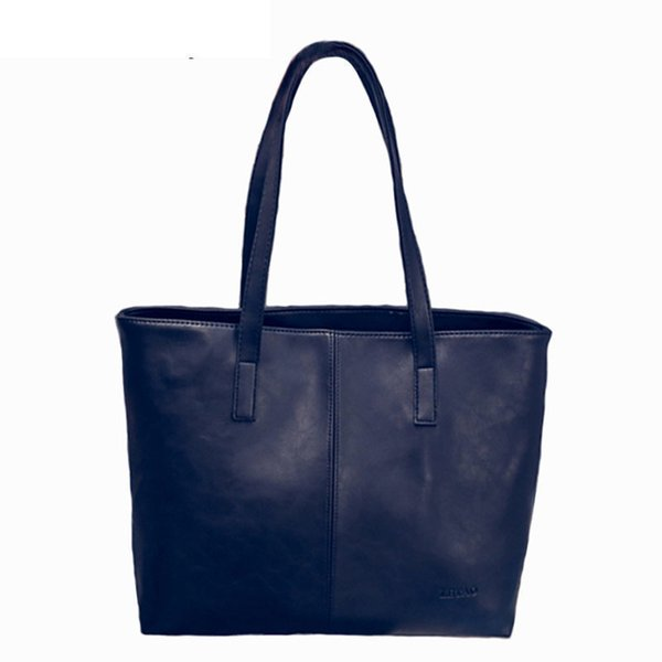good quality Women Bag 2019 Fashion Women Leather Handbag Brief Shoulder Bags Gray Black Large Capacity Handbags Women Bags