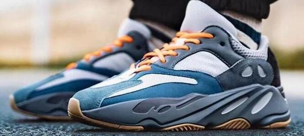 700 V2 corredor de la onda Geode inercia gris sólido Vanta Geode estáticas malva Hombres Mujeres Kanye West zapatos informales de lujo para los diseñadores zapatillas de deporte 36-46