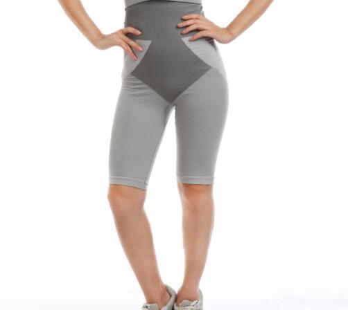 Entrenador de cintura Shapewear Body Shapers Control Estómago delgado Corset Body Sculpting Bamboo Charcoal Terapia magnética Pantalones