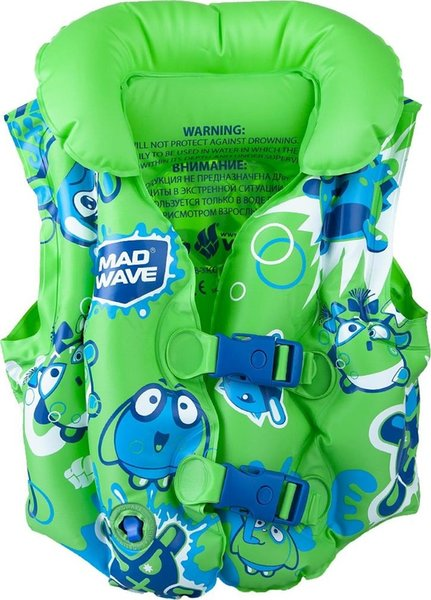 best selling Wave Mad Wave Kids' Swimming Floating Vest M0756 02 0 10W Ship from Turkey HB-003806689