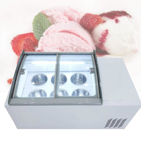 best selling High quality New ice cream display cabinet commercial freezer for cold drinks shop store supermarket ice cream display cabinet