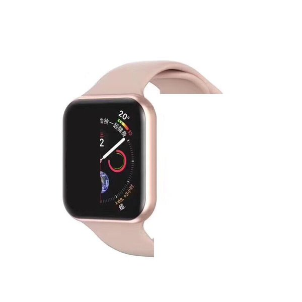 IWO9 relógio Inteligente 44mm Série 4 caso 1to1 relógios Bluetooth Monitor de Freqüência Cardíaca Sport Wisrtwatch para Huawei Xiaomi iPhone x xs Goophone montre