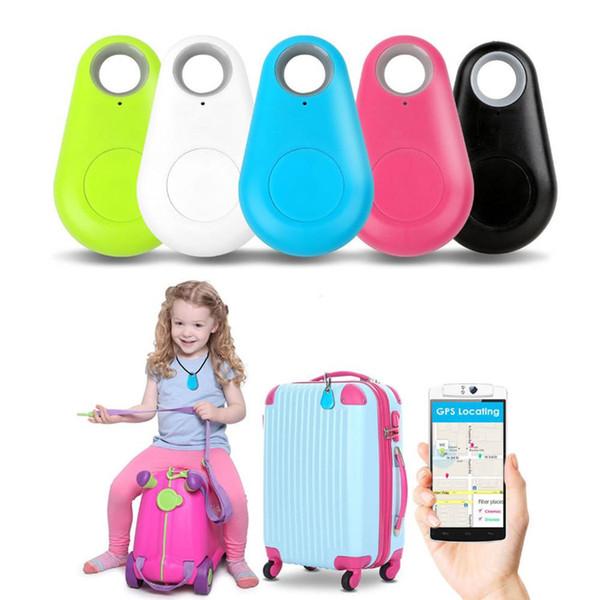 Heißer verkauf Mini Smart Wireless Bluetooth Tracker Auto Kind Brieftasche Haustiere Key Finder GPS Locator Anti-verlorene Alarm Erinnerung für handys