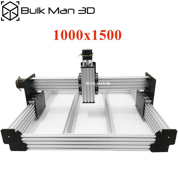 Workbee CNC Router Machine Kit 1000x1500mm 4Axis Woodworking Engraving Milling Machine Kit with 175 oz*in Nema23 Stepper Motors