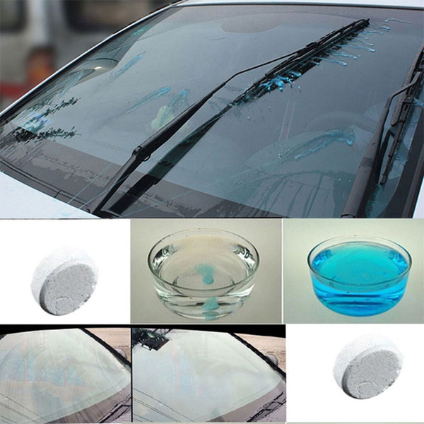 Effervescent Tablets for Auto Car Windshield Glass Clean Washer Tablets Detergent Car Window Cleaner 7