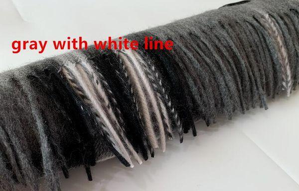 Grau mit weißer Linie