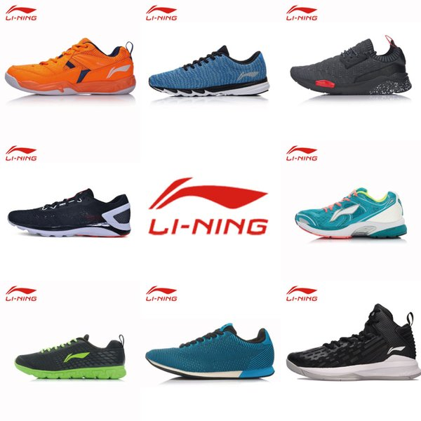LINING 2018 clearance Sale Spring Autumn Athletic shoe Man Running Shoes Professional Male Training Run Sports Sneakers
