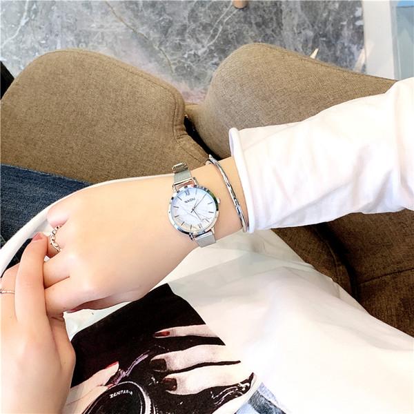 Shifenmei W231-1 Loisirs Femmes Quartz Montre-Bracelet Créatif Motif Dames Montres Occasionnelles Exquise Étudiant Robe Femme Montre