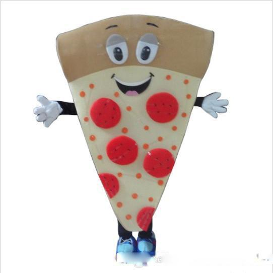 High quality Adult cute pizza Mascot Costume Fancy Dress Halloween party costume free shipping