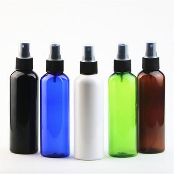best selling 200ml Round Shoulder PET Spray Plastic Bottle Perfume Spray Bottle Fine Mist Make-up Bottles Are Bottled Separately EEA1208 sea shipping