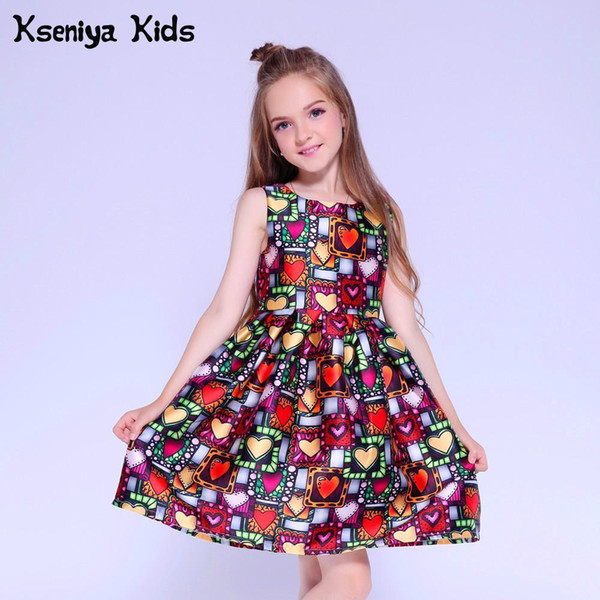 2019 Kseniya Kids Dress Princess Girl Clothing Brand Cute Children Party  Dresses For Girls 10 12 Girls Dresses Age 13 J190706 From Babala2, $27.4